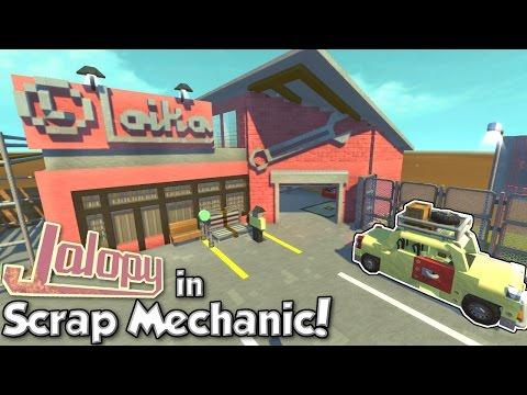 JALOPY in Scrap Mechanic! - Scrap Mechanic...