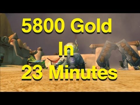 How To Make Gold In WoW [5800 G In 23 Minutes] Zul'Farrak Guide