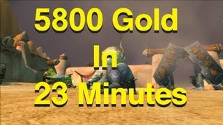 how to make gold in wow 5800 g in 23 minutes zul farrak guide