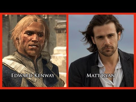 Characters and Voice Actors  Assassins Creed IV: Black Flag