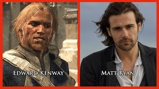 Repeat youtube video Characters and Voice Actors - Assassin's Creed IV: Black Flag