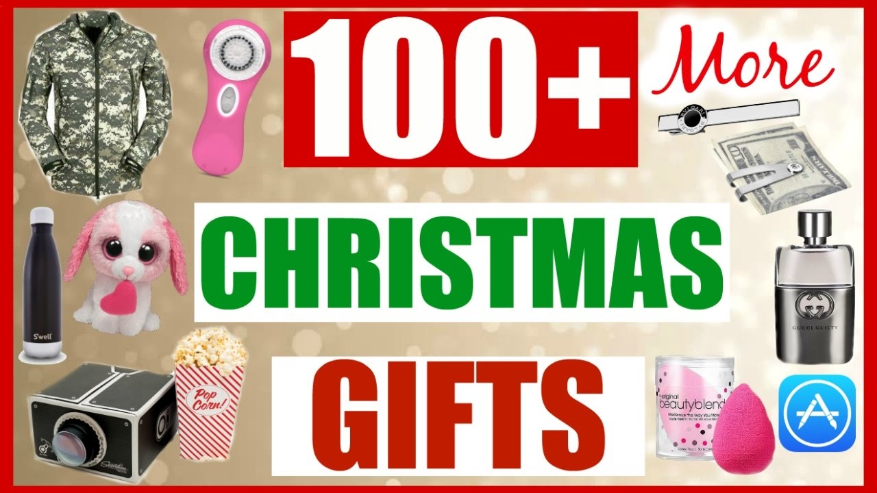 100 More Last Minute Christmas Gift Ideas For Everyone
