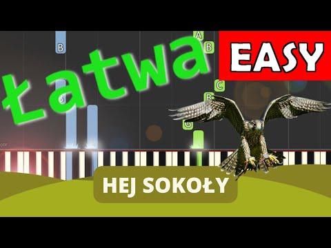 🎹 Hej Sokoły - Piano Tutorial (łatwa wersja) [REUPLOAD] 🎹