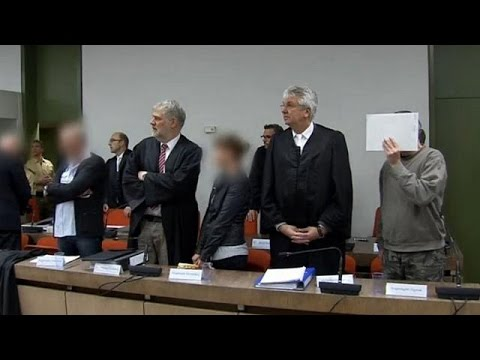 Download Neo-Nazis on trial in Munich for asylum seeker nail bomb plot