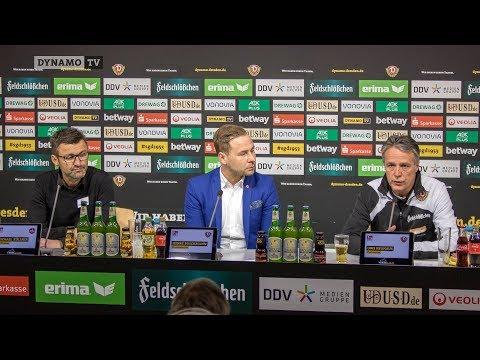 28. Spieltag | SGD - FCN | Pressekonferenz nach dem Spiel