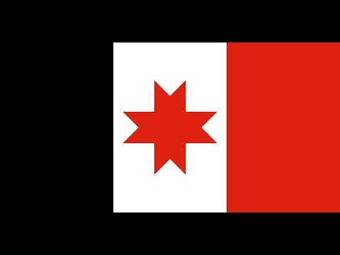 Флаг Удмуртии.