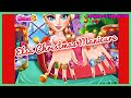 Elsa Christmas Manicure- Fun Online Fashion Nail Games for Girls Kids Teens