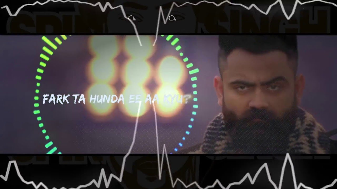 Latest Punjabi Song Difference (Remix) Sung By Amrit Maan