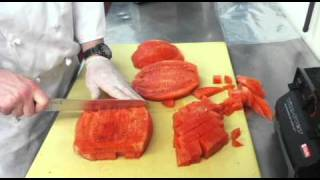 Basil Infused Compressed Watermelon