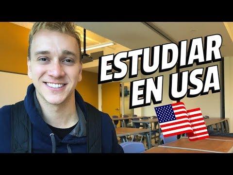 ¿Cómo estudiar en EEUU? ¿Cómo solicitar una beca? - Oscar Alejandro