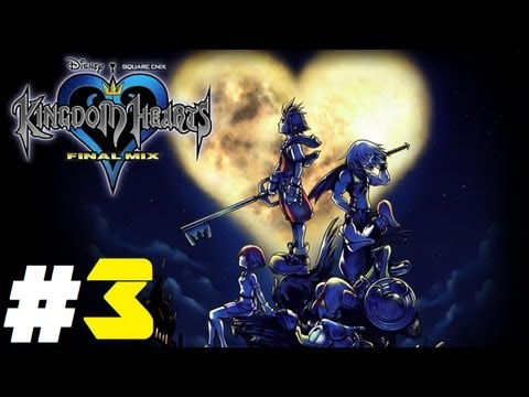 Kingdom Hearts Final Mix Pt.3 || PS3 || I'm Not Afraid Of The Darkness!