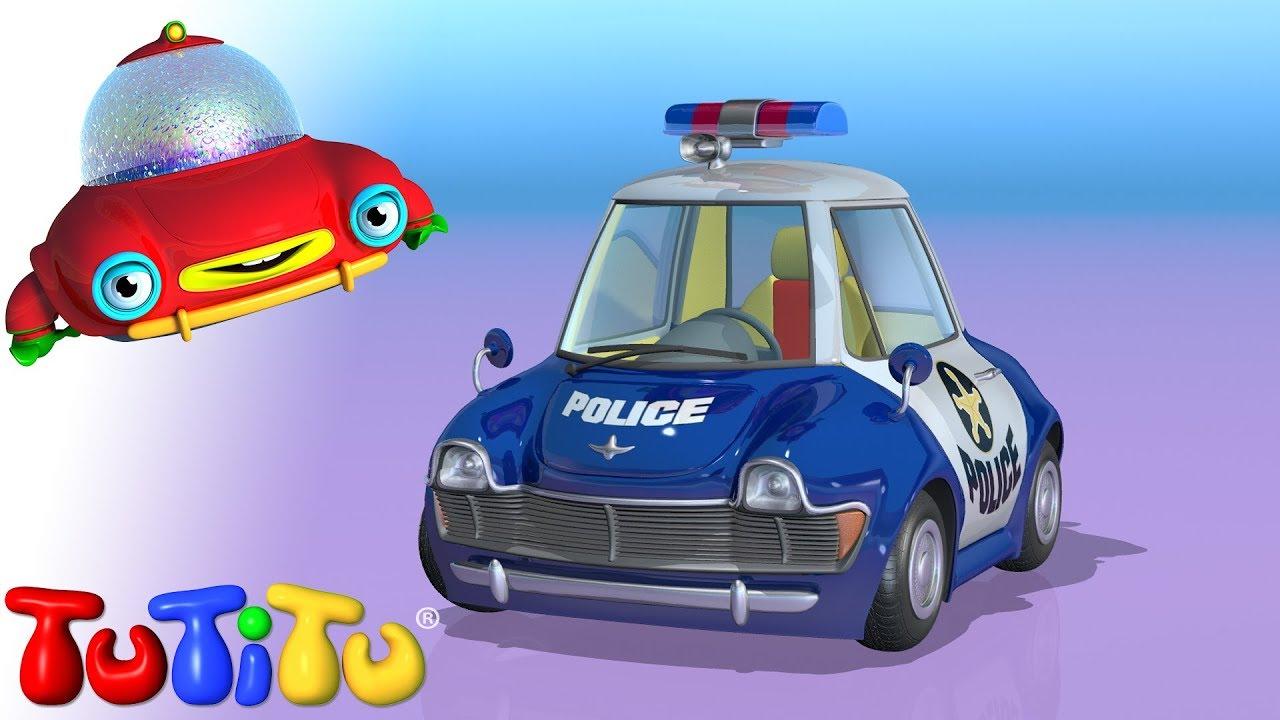 Tutitu Coche De Policia Youtube