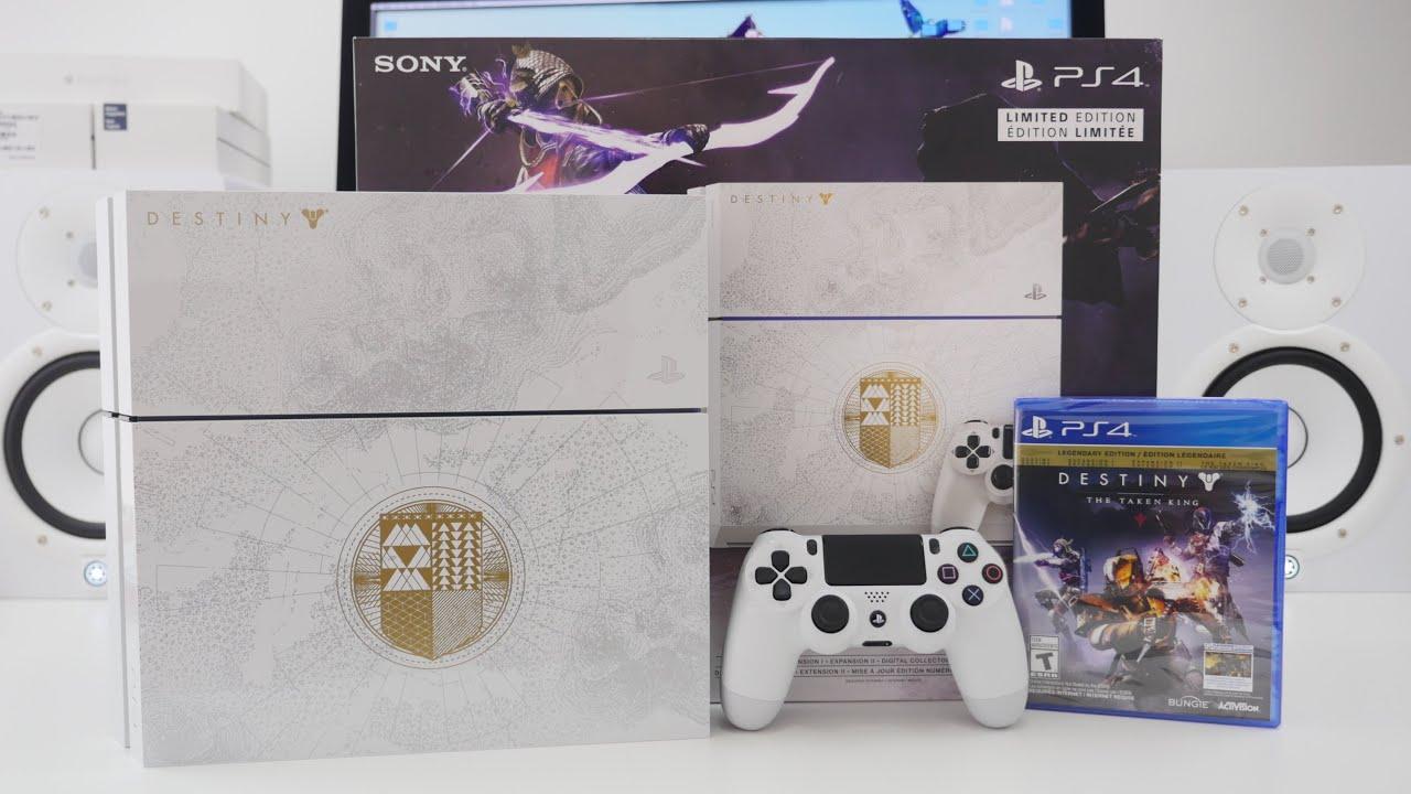 PS4 Destiny The Taken King Bundle UNBOXING - YouTube