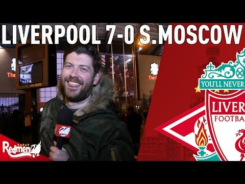 Maybe The Best LFC Side I've Ever Seen! | Liverpool v Spartak Moscow 7-0 | Paul's Match Reaction