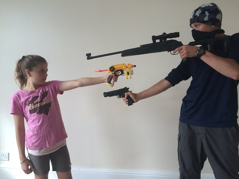 Thumbnail: Nerf Robbery - Defend the House