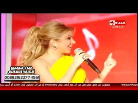 كلام اليسا مع رزان المغربي - مسرح صوت الحياة Razan El Moghrabi