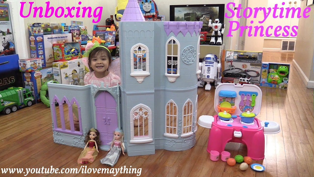 Toys for Little Girls Storytime Castle Playset and Kitchen