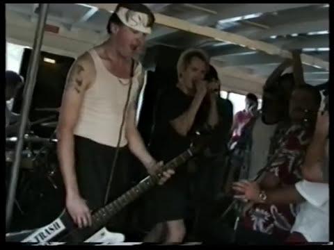 SNFU - Live @ Sydney Harbour Cruise, Sydney, 17th March 1996
