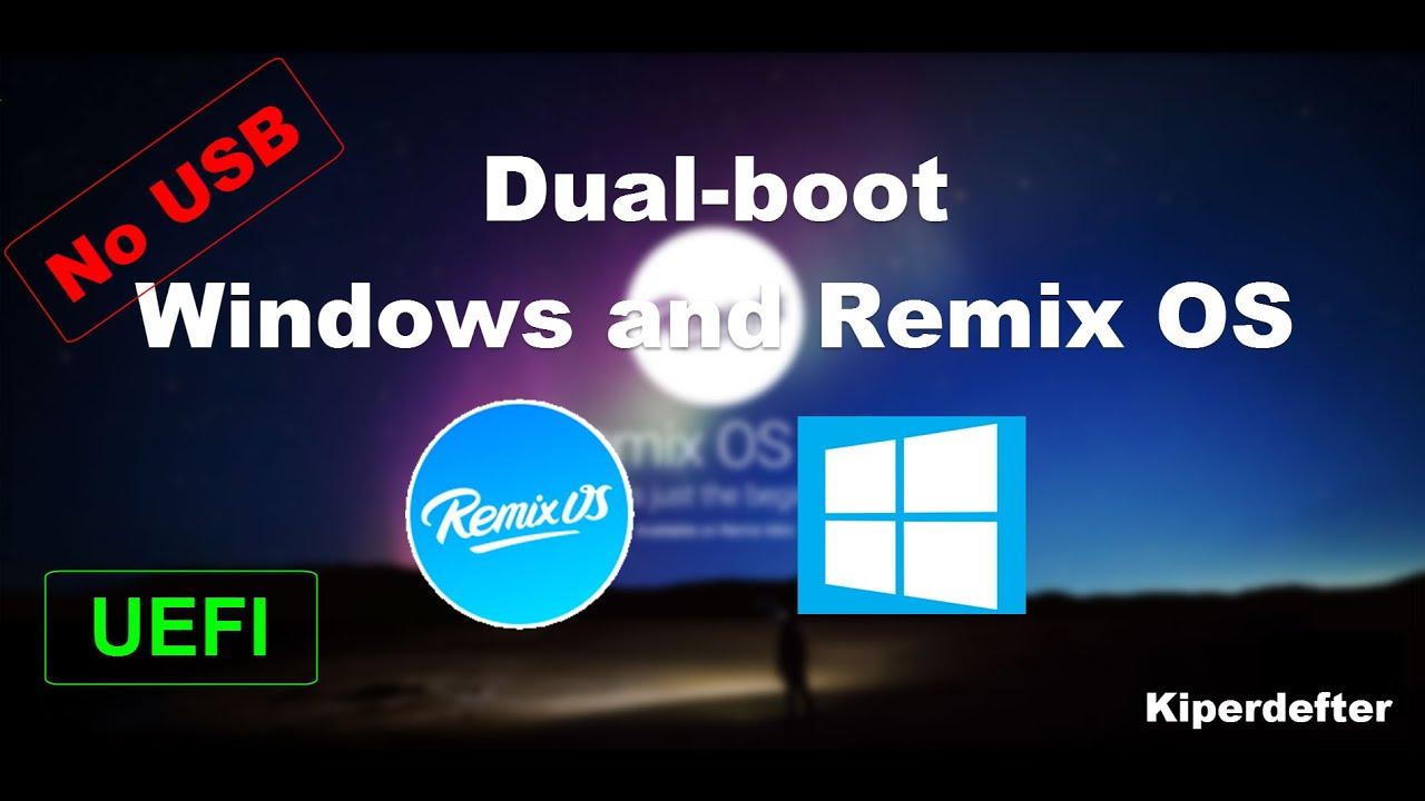 how to create uefi boot usb windows 10