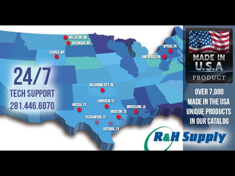R&H Supply - Oilfield supplier warehouse virtual tour