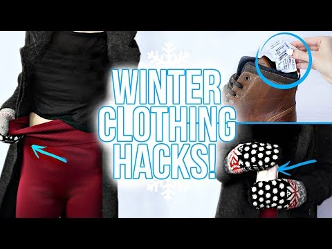 Thumbnail: 10 WINTER CLOTHING HACKS YOU NEED TO KNOW!