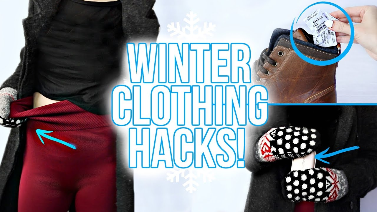 10 Winter Clothing Hacks You Need To Know Youtube Pants