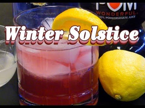 Winter Solstice Cocktail Recipe -...