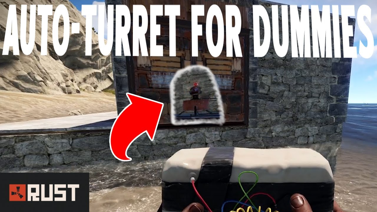 Cheapest And Quickest Way To Destroy A Garage Door In Rust Youtube