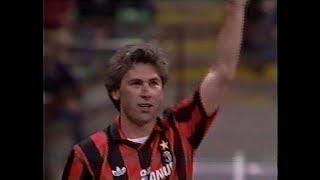 Friendly    1992    Milan   vs      Brazil   ( Match in  tribute to Carlo Ancelotti farewell.)