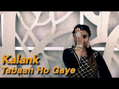 Tabaah Ho Gaye - Kalank | Madhuri Dixit | Bollywood Dance Studio I Feat. Maitri I Tabah Ho Gaye