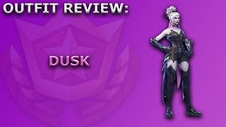 Dusk Outfit Review + Skin Showcase! ~ (Season 6 Battle Pass Item) ~ Fortnite Battle Royale