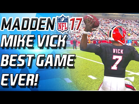 THE GREATEST MICHAEL VICK GAMEPLAY YOULL EVER SEE! - Madden 17 Ultimate Team