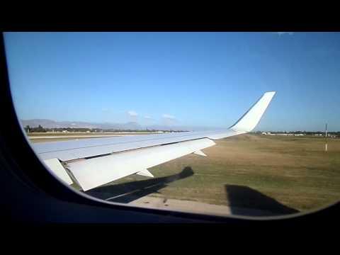 Boeing 767-300 Taxi & TakeOff Toussaint L'Overture Airport, Port-au-Prince, Haiti