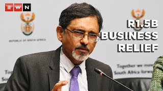 Trade, Industry and Competition Minister Ebrahim Patel briefed the media on 19 October 2021 about the progress of the economic relief package, saying that R1.5 billion had been approved by the IDC to assist businesses affected by the July riots.  #SAShutdown #EbrahimPatel #LGE2021