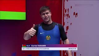 Сергей Гаранин BLR Men 89kg European Championships Moscow 2021