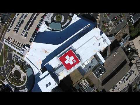 Amazing landing at Danbury Hospital