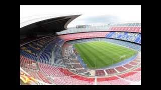 top 5 estadios mas grandes y mas pequeños por sus capacidad liga española 2012-2013