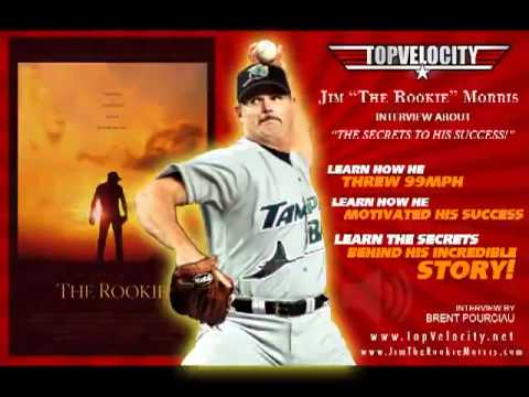 """Jim """"The Rookie"""" Morris Pitching Interview"""