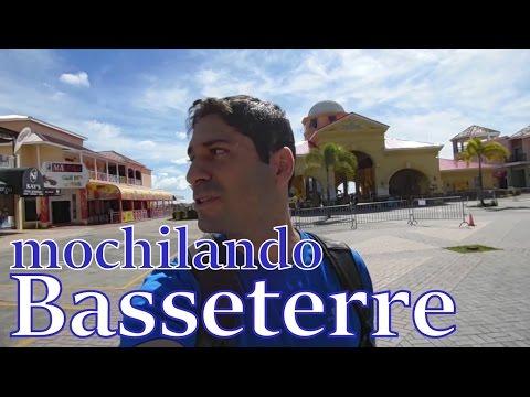 Mochilando em Basseterre, num país que você nunca ouviu falar