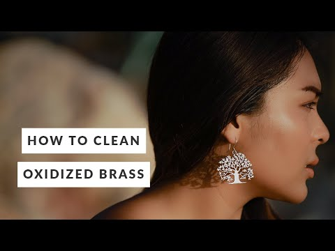 How to Clean Oxidized Brass Jewelry (Simple and Fast)