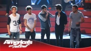 "One Direction - ""Best Song Ever"" Performance on AGT - America"