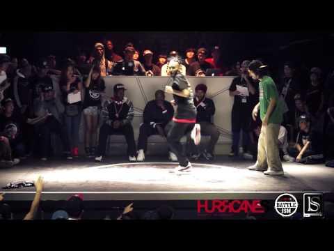 HURRICANES BATTLE-ISM 2013 TAIWAN | HIP HOP SOLO BATTLE - UKAY VS Atsuki (Best-16)