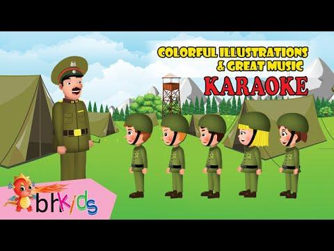 Five Little Soldiers - Karaoke & Lyrics in English