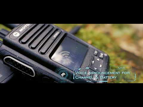Motorola KuNo DP3441e and DP3661e live at forestry work -  english