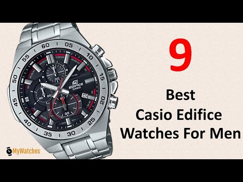 9 Best Casio Edifice Watches For Men