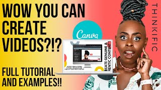 How To Use Video In Canva 2020!