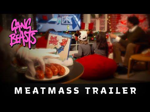 Double Fine Presents: Gangbeasts // Meatmass Trailer