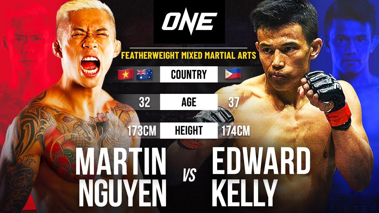 Martin Nguyen vs. Edward Kelly | Full Fight Replay