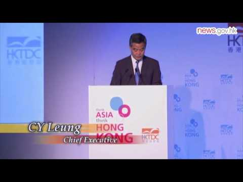 CE promotes HK in Chicago (11.6.2015)