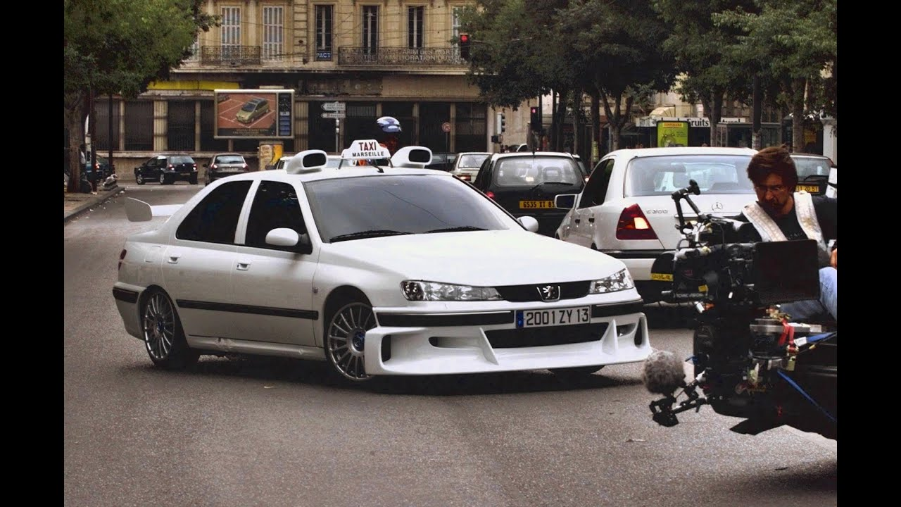 peugeot 406 из такси